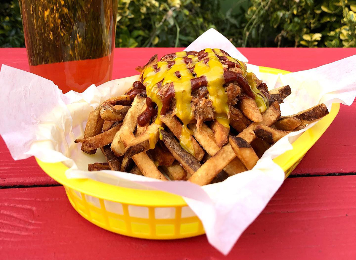 pulled pork fries