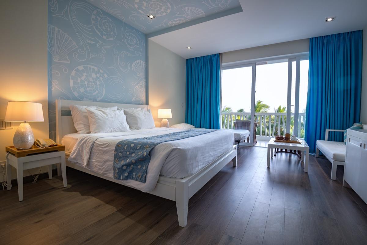 view of Airbnb apartment interior