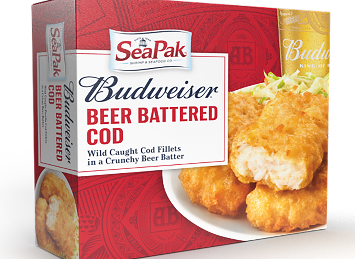 seapak budweiser beer battered cod