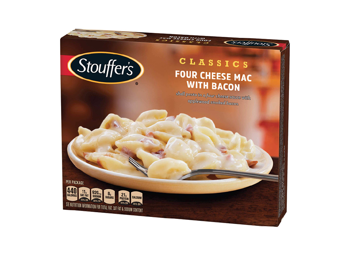 stouffers four cheese mac with bacon