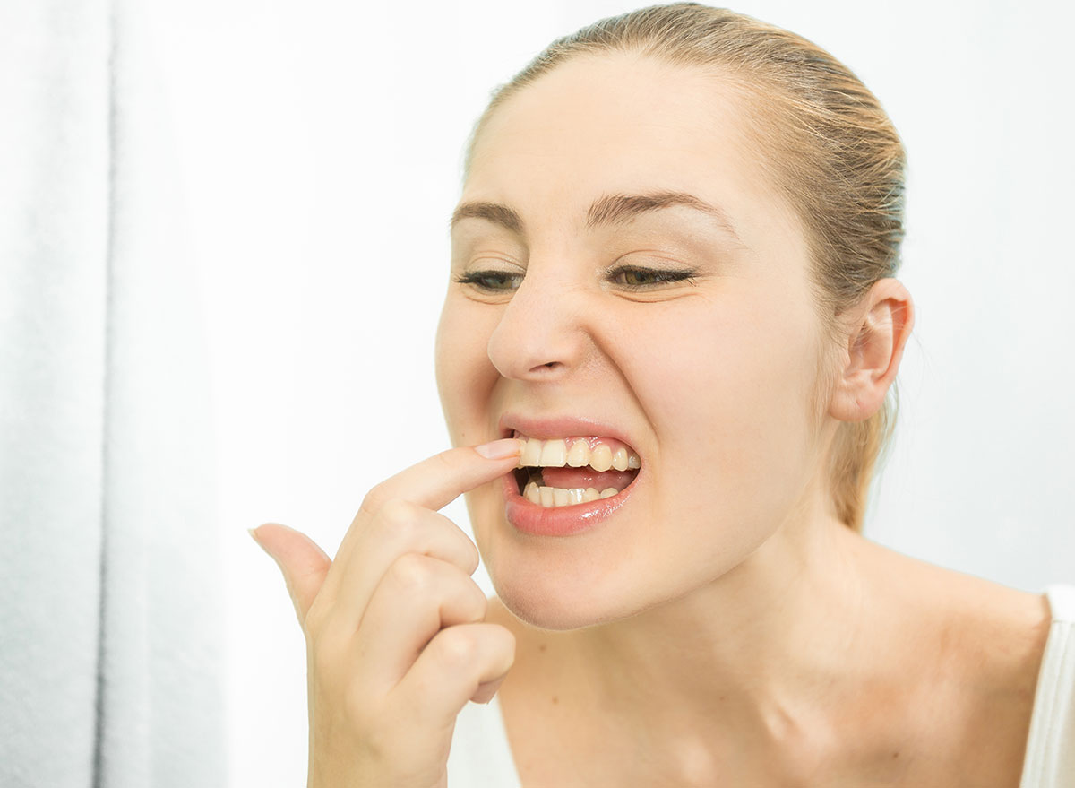 teeth picking