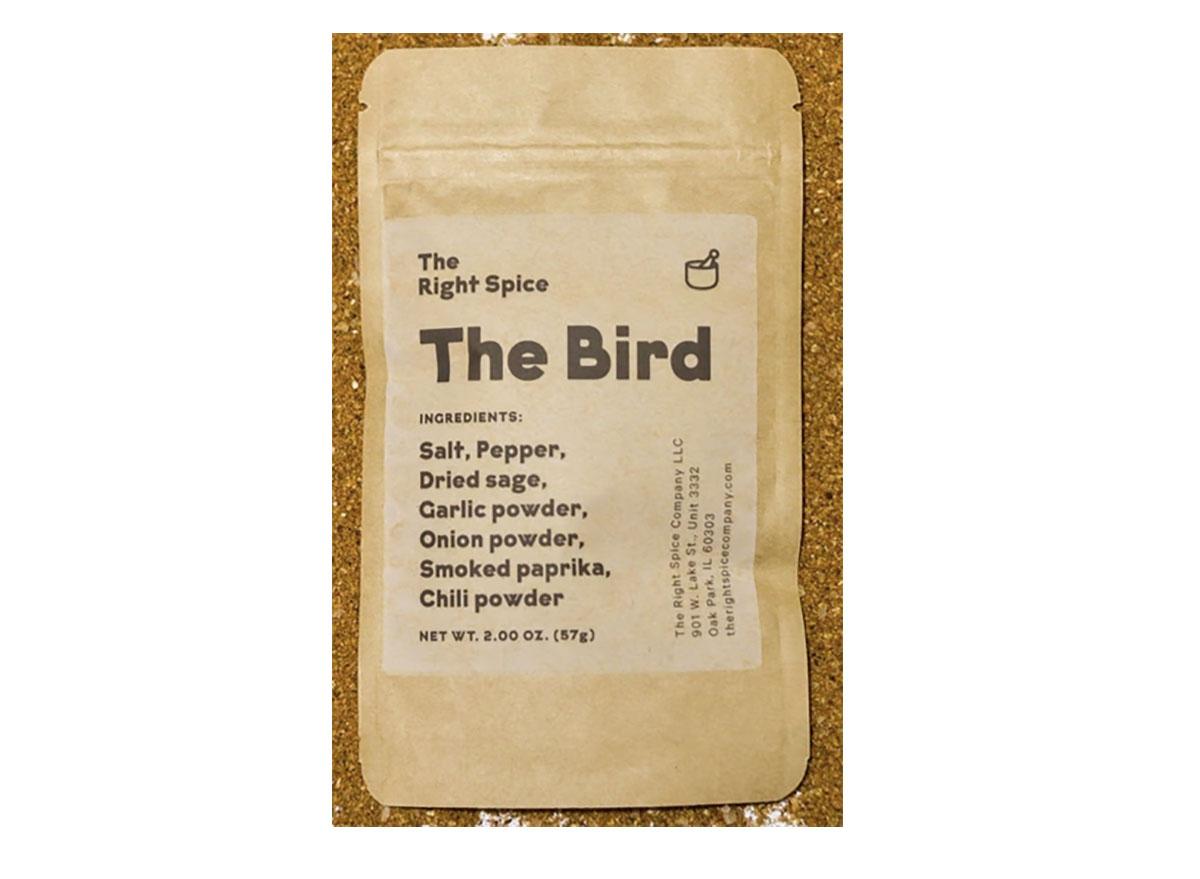 the right spice company the bird seasoning packet
