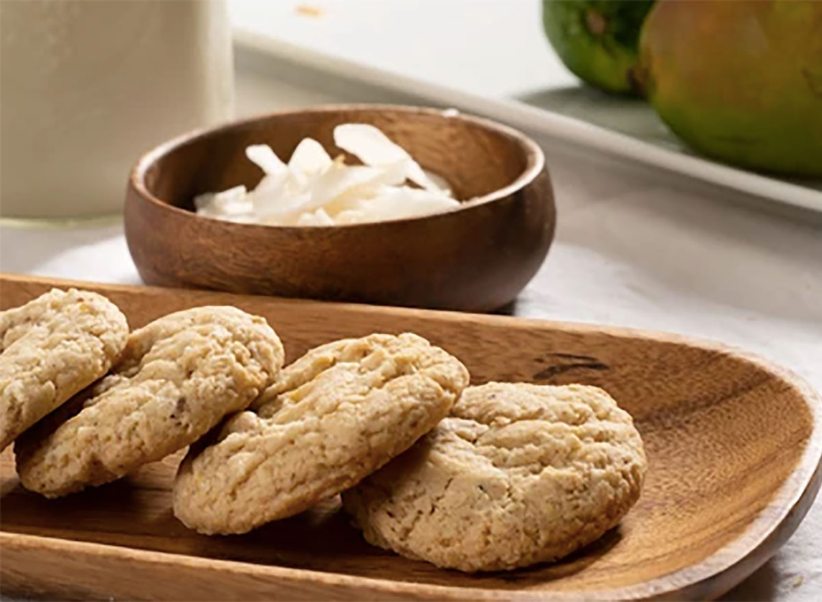 coconut cookies from tubbys taste