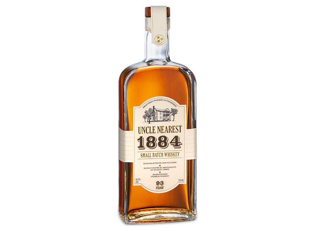 bottle of uncle nearest whiskey
