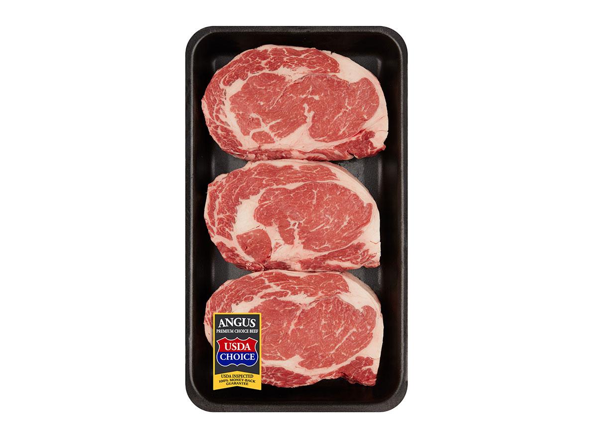 pack of ribeye steaks from walmart