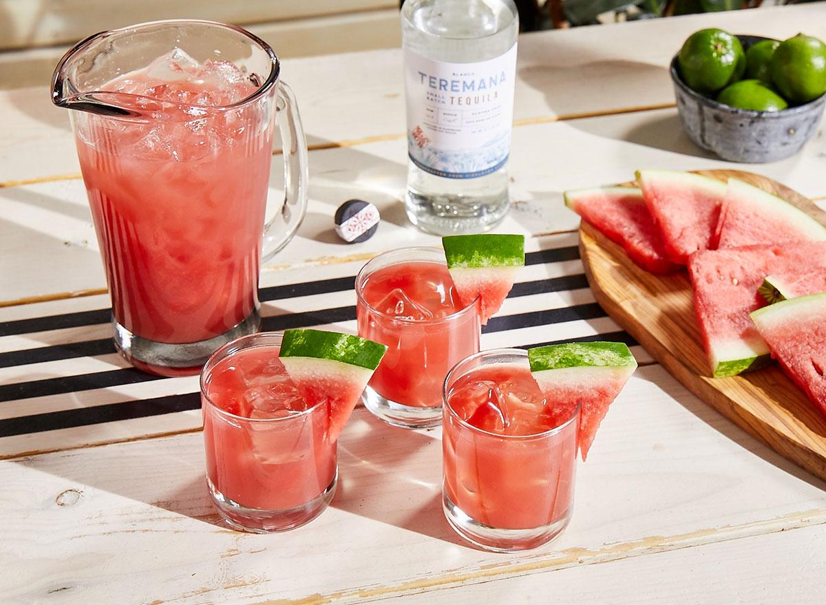 watermelon manarita pitcher