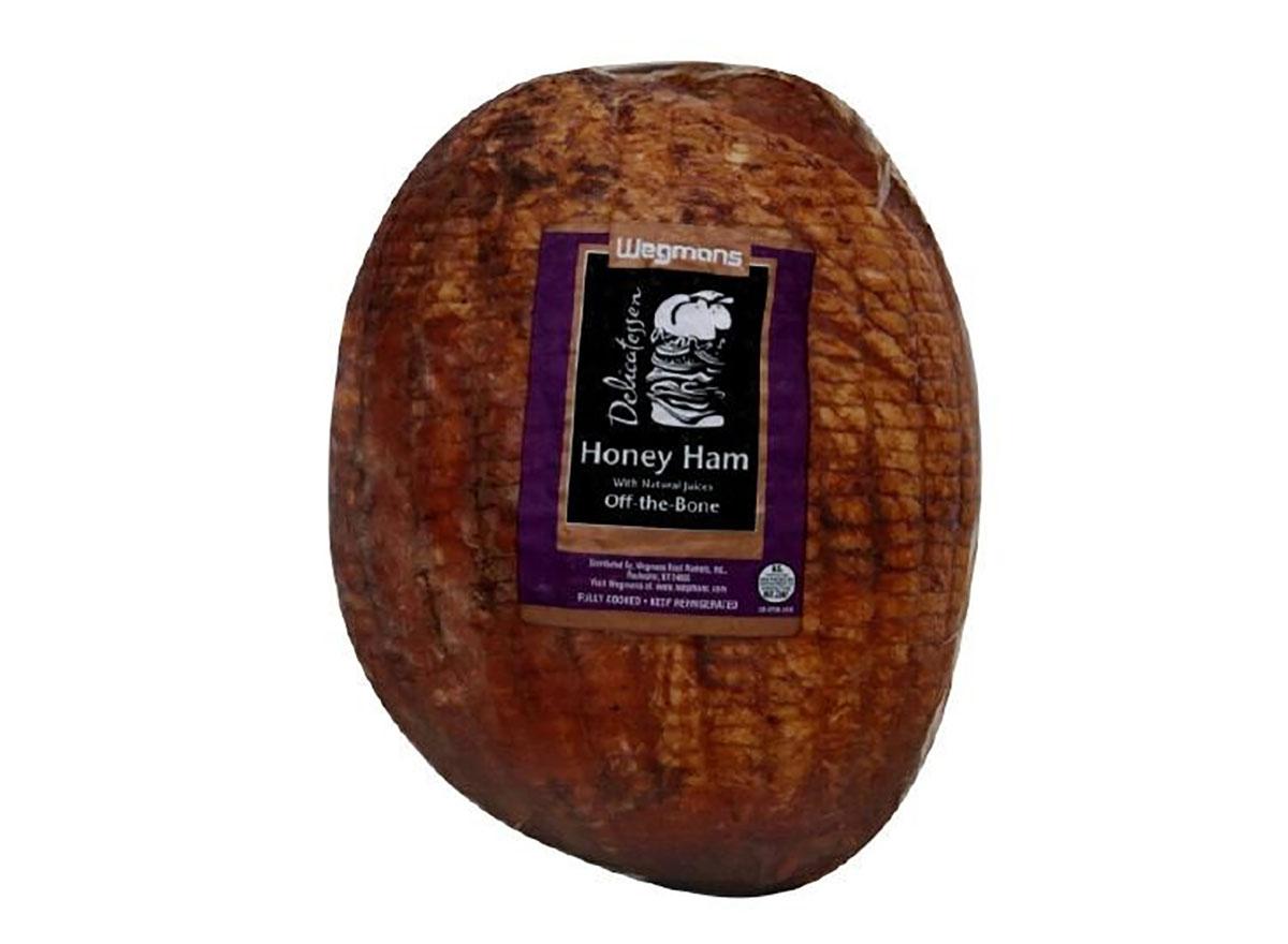 wegmans honey ham deli meat