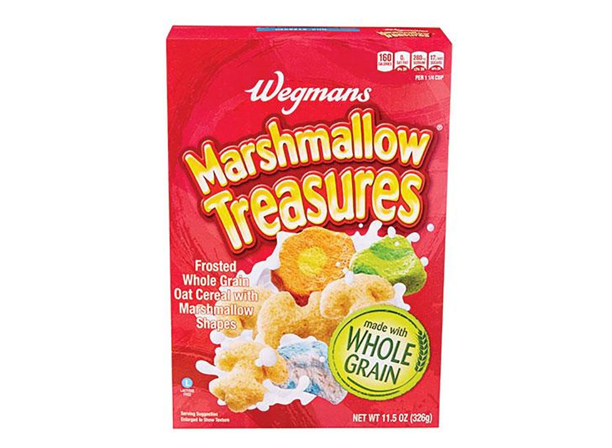 wegmans marshmallow treasures cereal