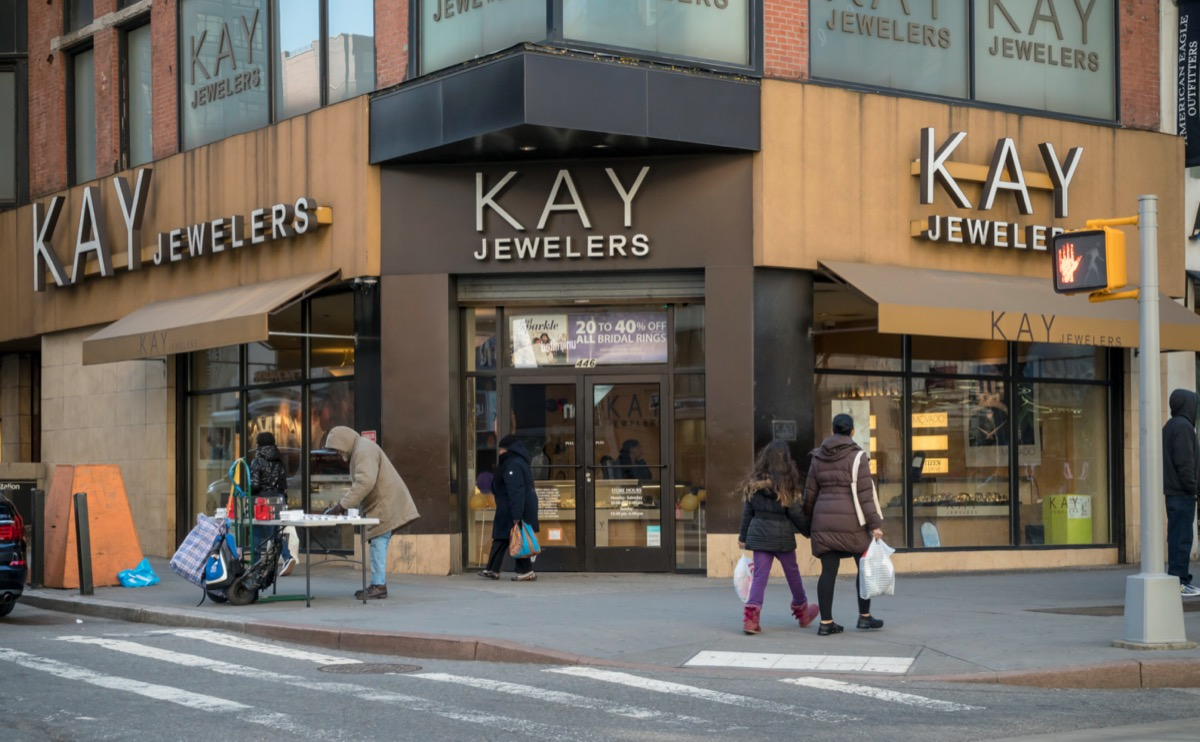 Kay Jewelers in Downtown Brooklyn in New York