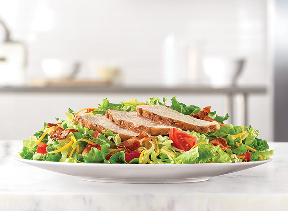 arbys roast chicken salad