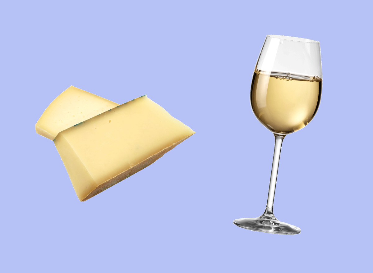 asiago and riesling