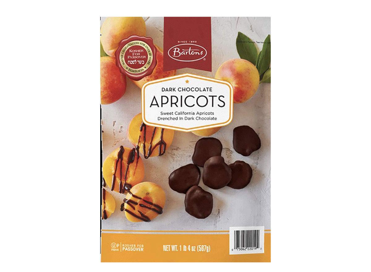 bartons dark chocolate apricots