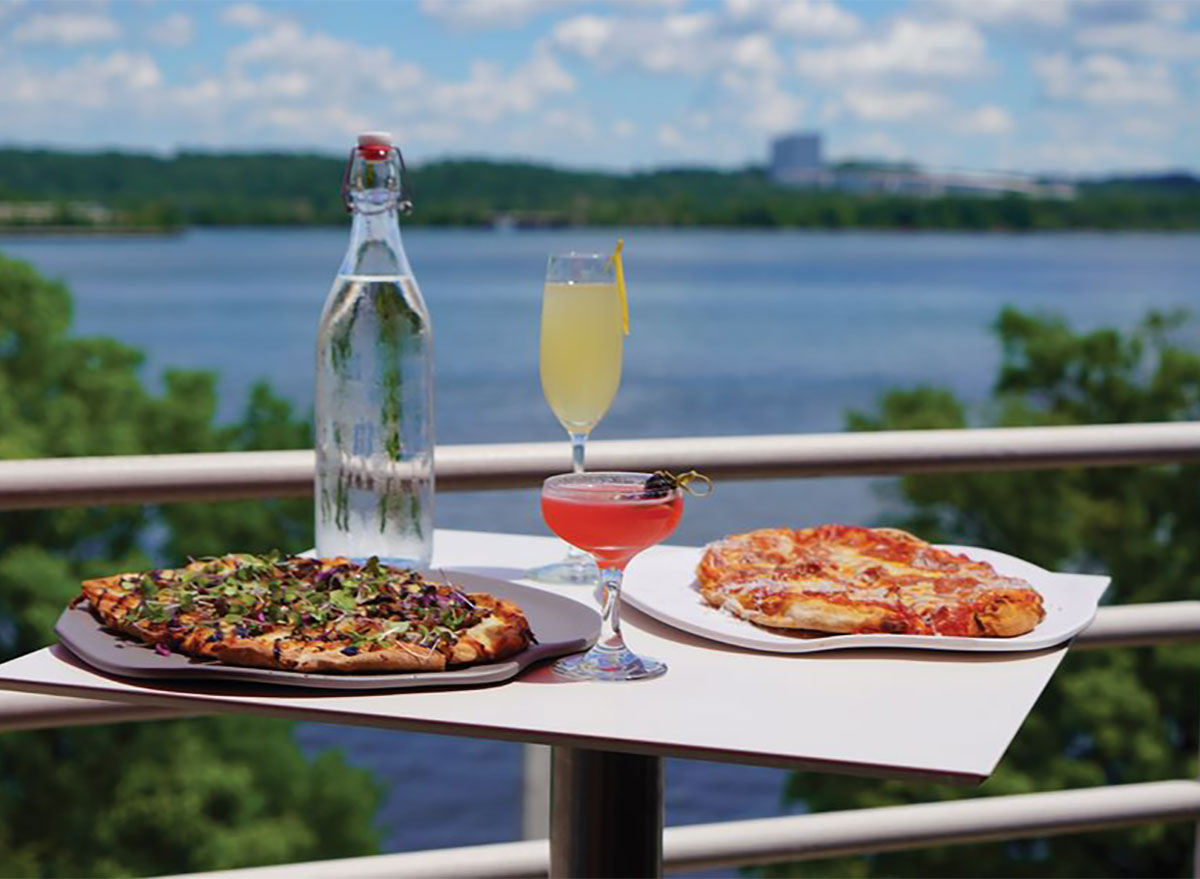 cafe 44 pizza and waterfront view