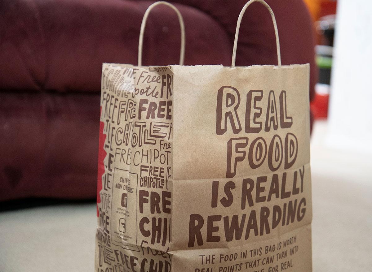 chipotle bag