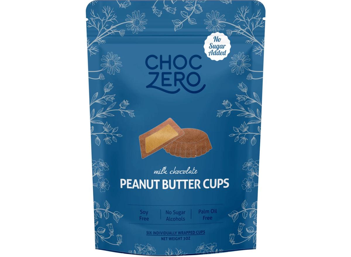 choczero milk chocolate keto peanut butter cups