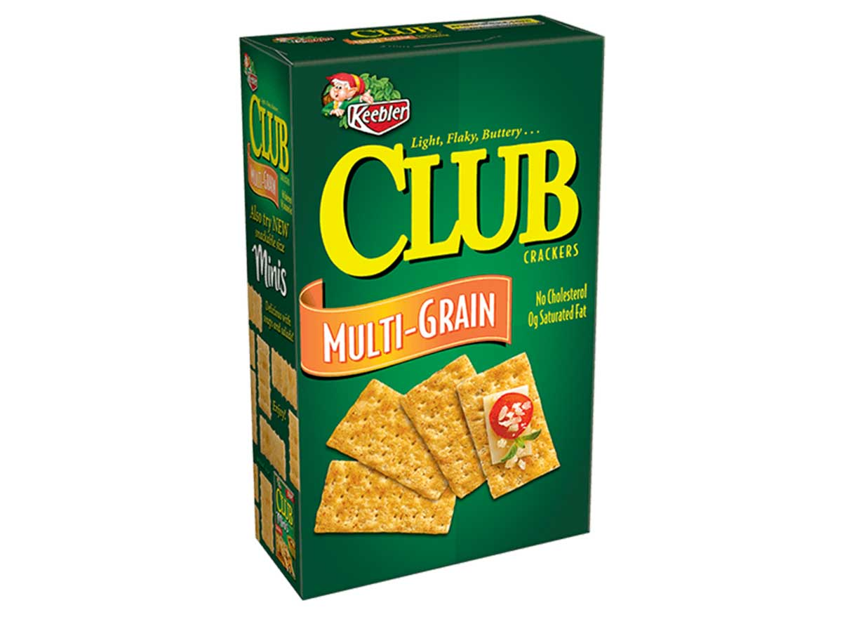 club crackers multigrain