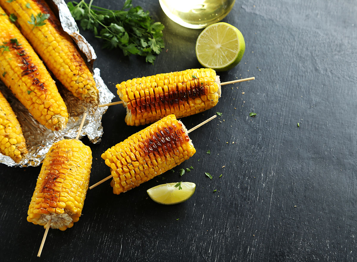 corn with lime