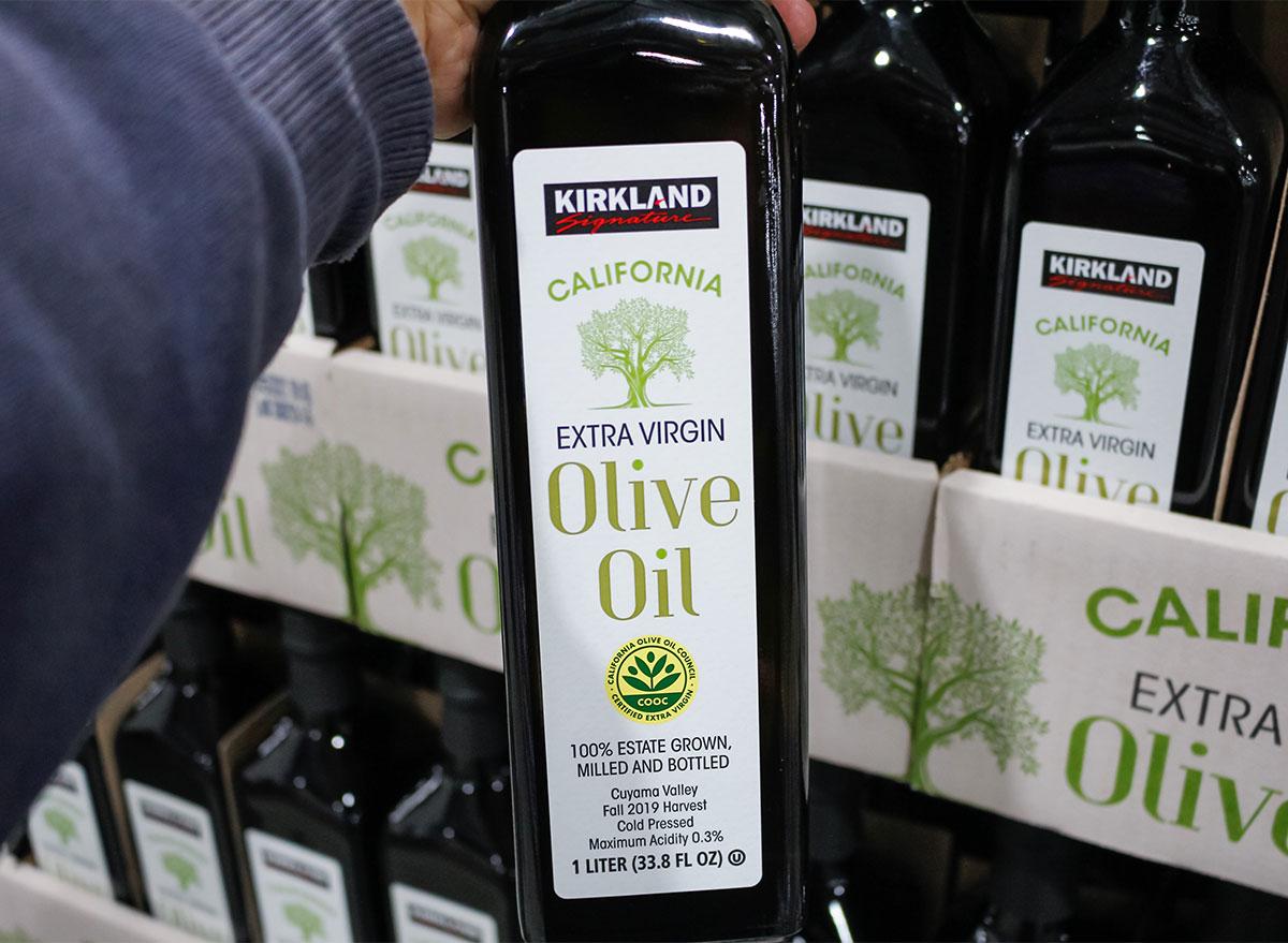costco olive oil bottles