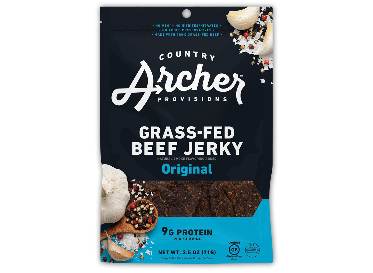 country archer grass fed beef jerky