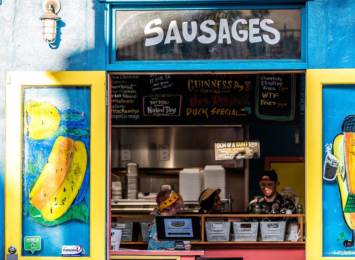 dat dog restaurant in new orleans
