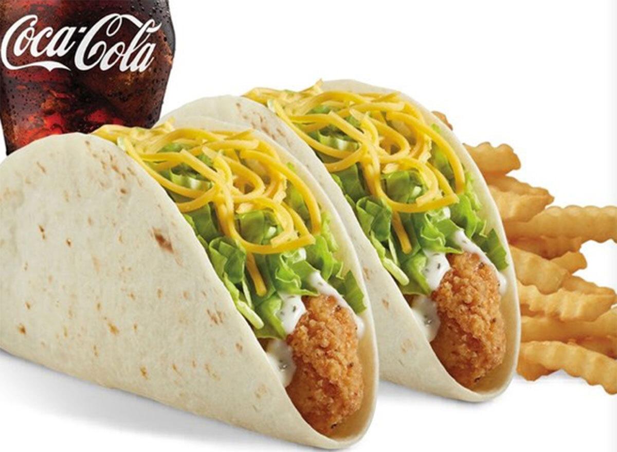 del taco chicken tacos