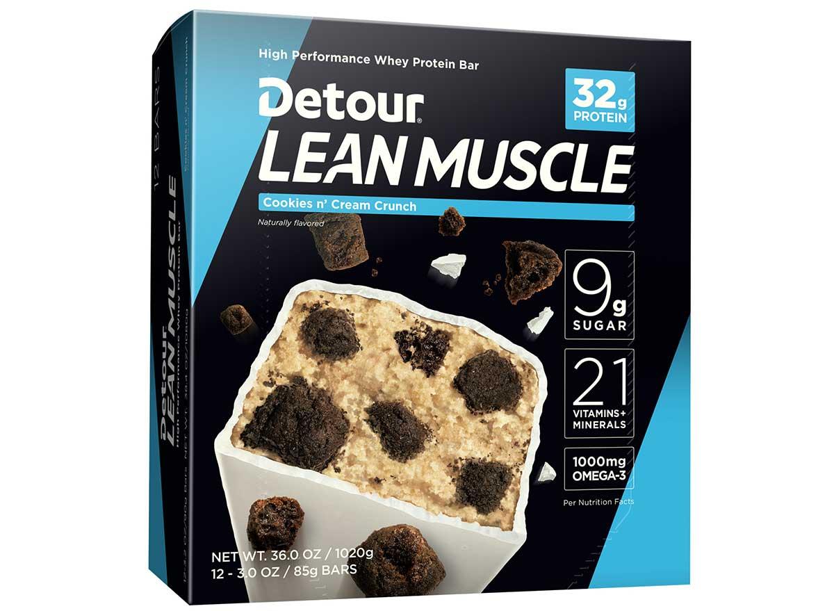 detour lean muscle
