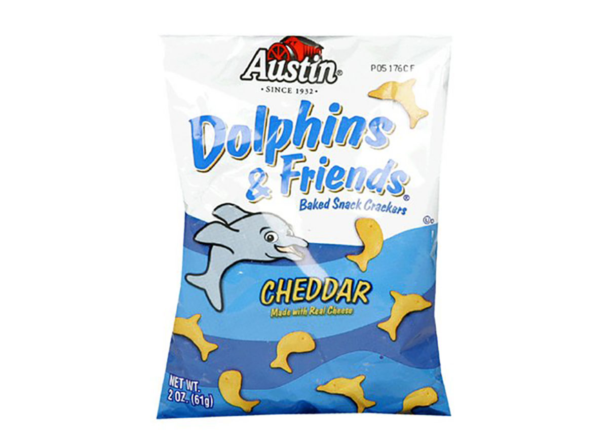dolphins and friends crackers