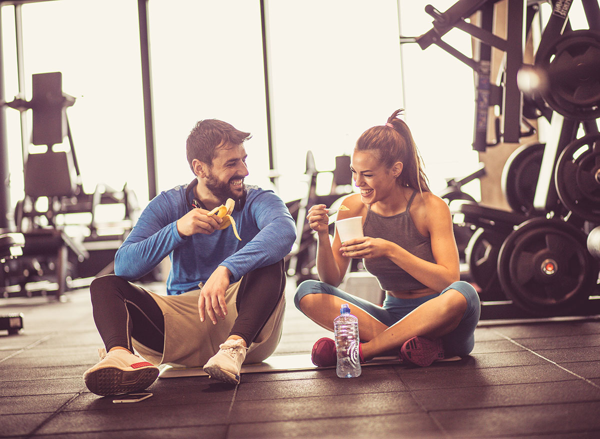 eating after exercise
