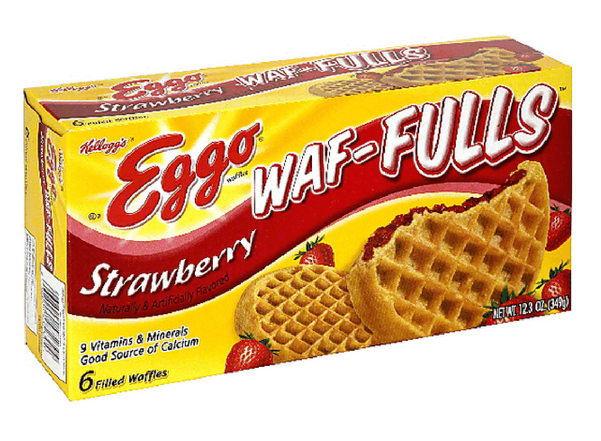box of eggo waffuls