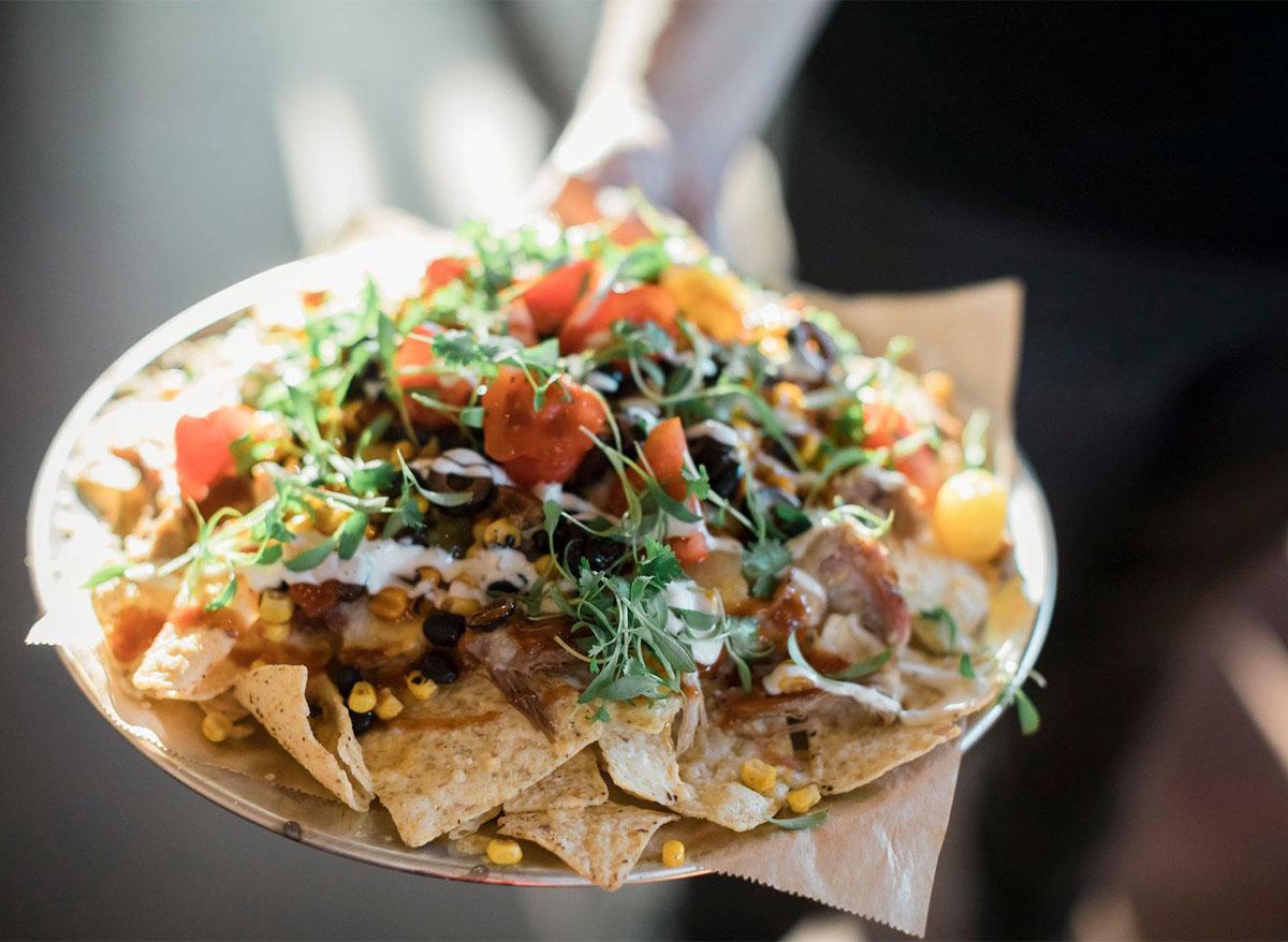 nachos from falls overlook cafe south dakota