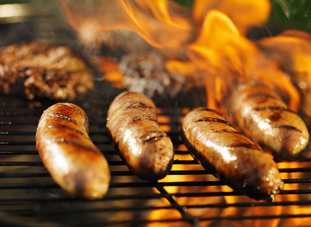 grilled brats