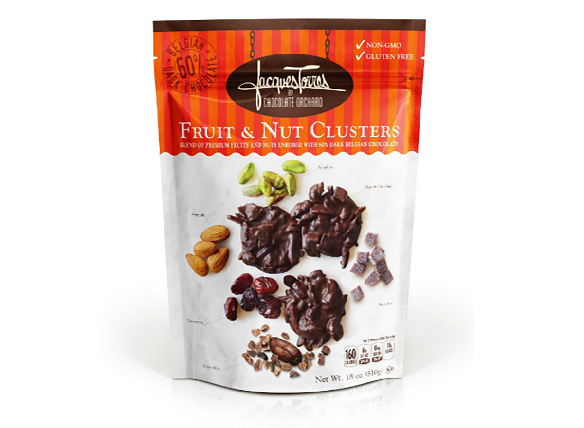 bag of jacques torres fruit and nut clusters