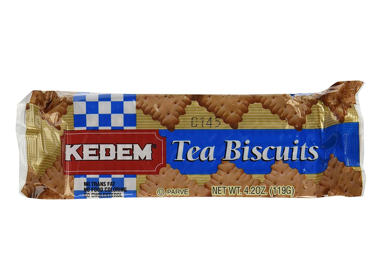 package of kedem tea biscuits