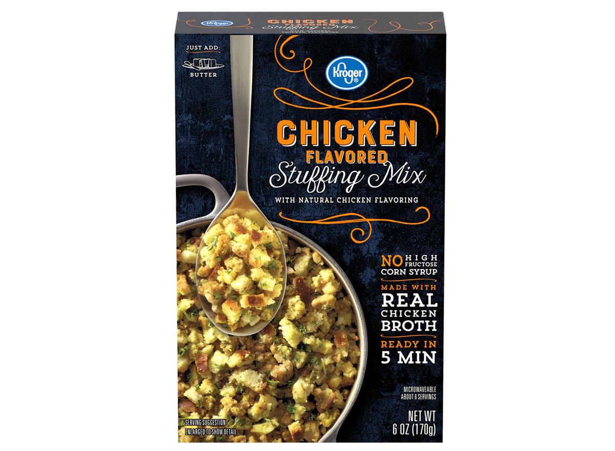 kroger chicken flavored stuffing mix