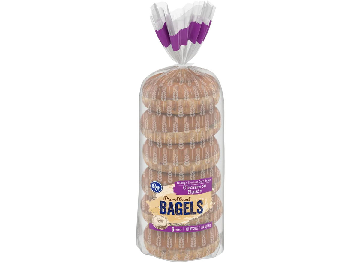 kroger cinnamon raisin bagels