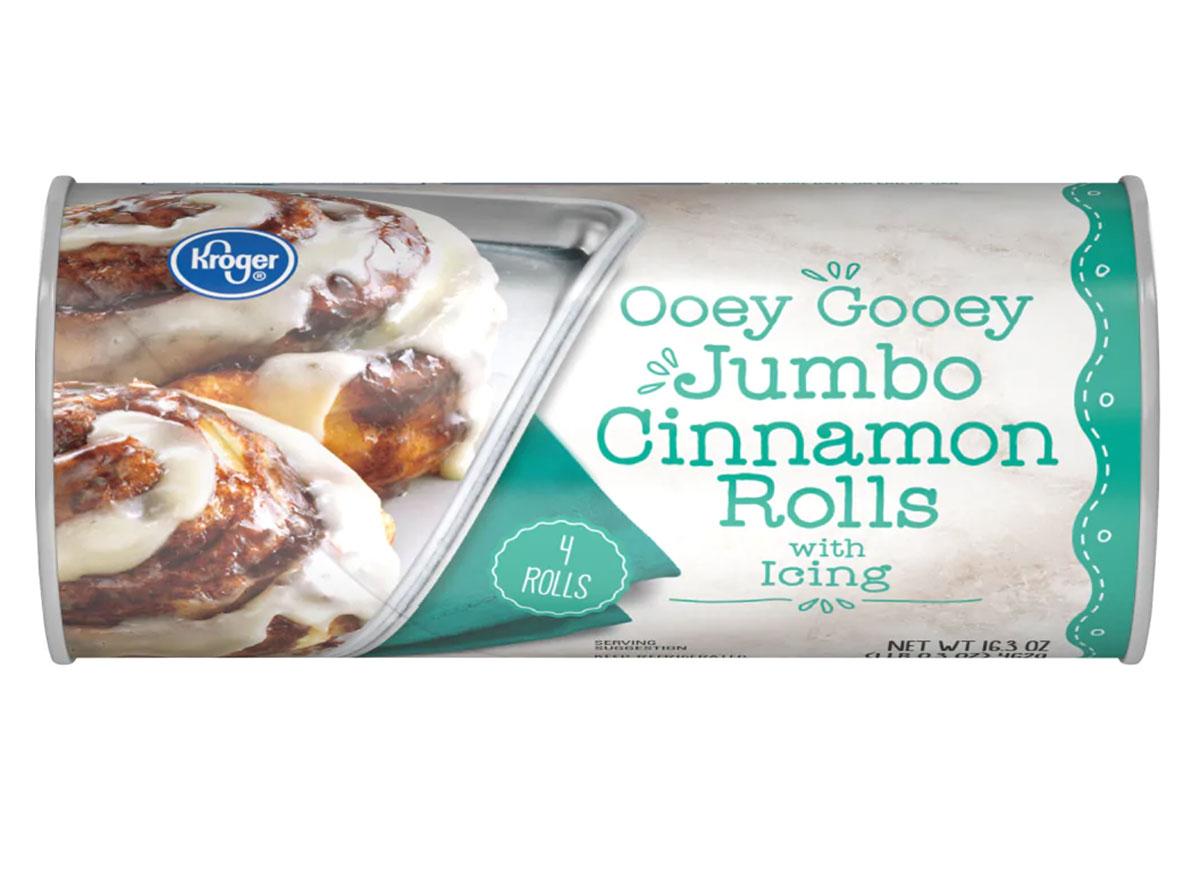 kroger cinnamon rolls