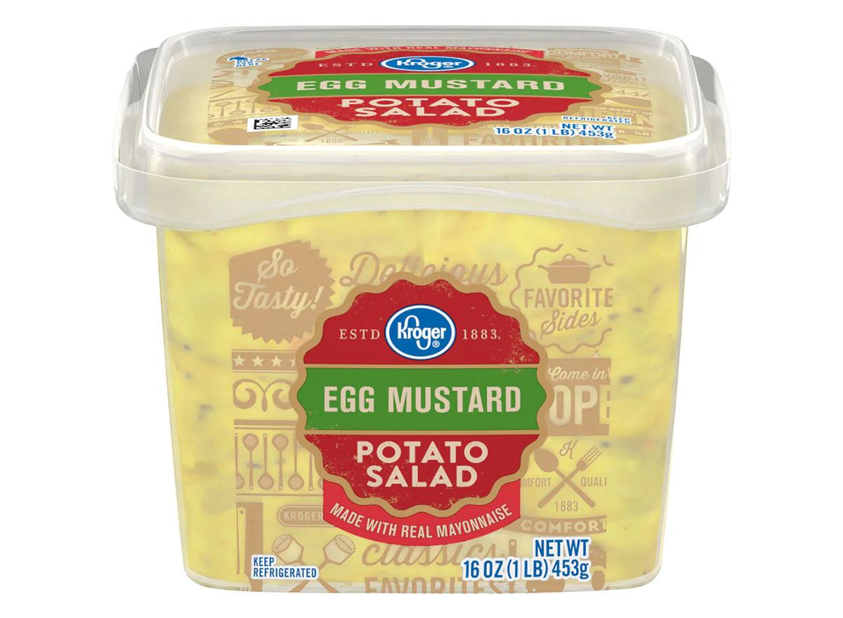 kroger egg mustard potato salad tub