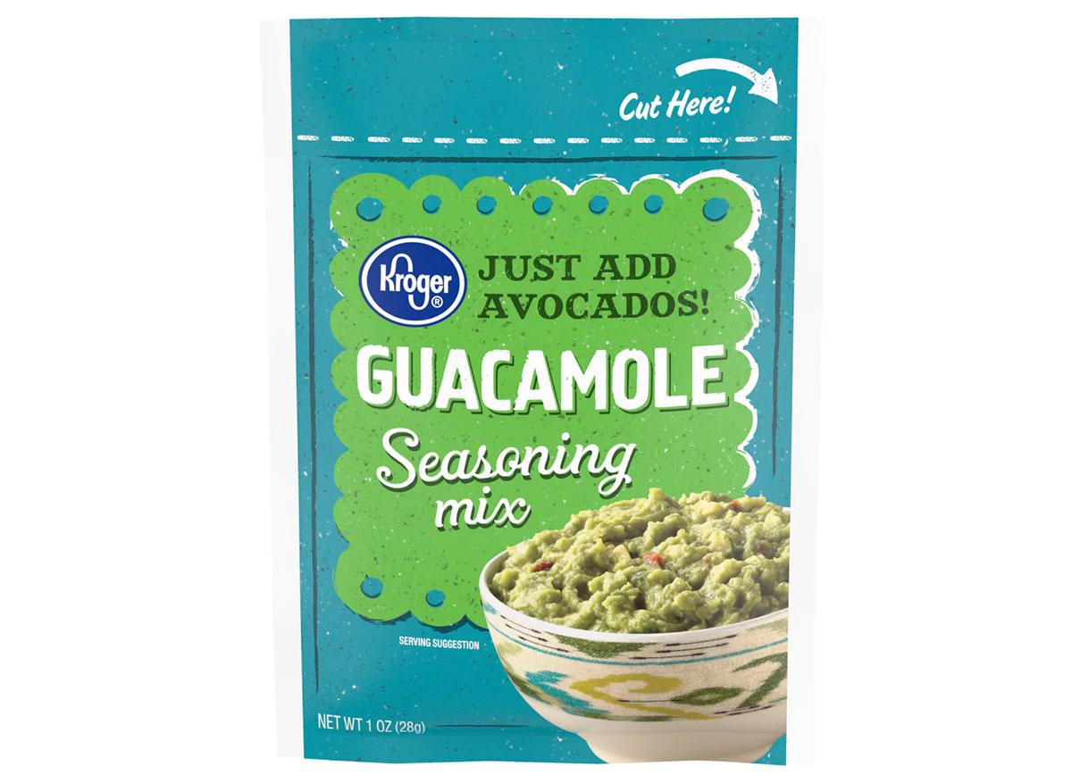 kroger guacamole seasoning mix