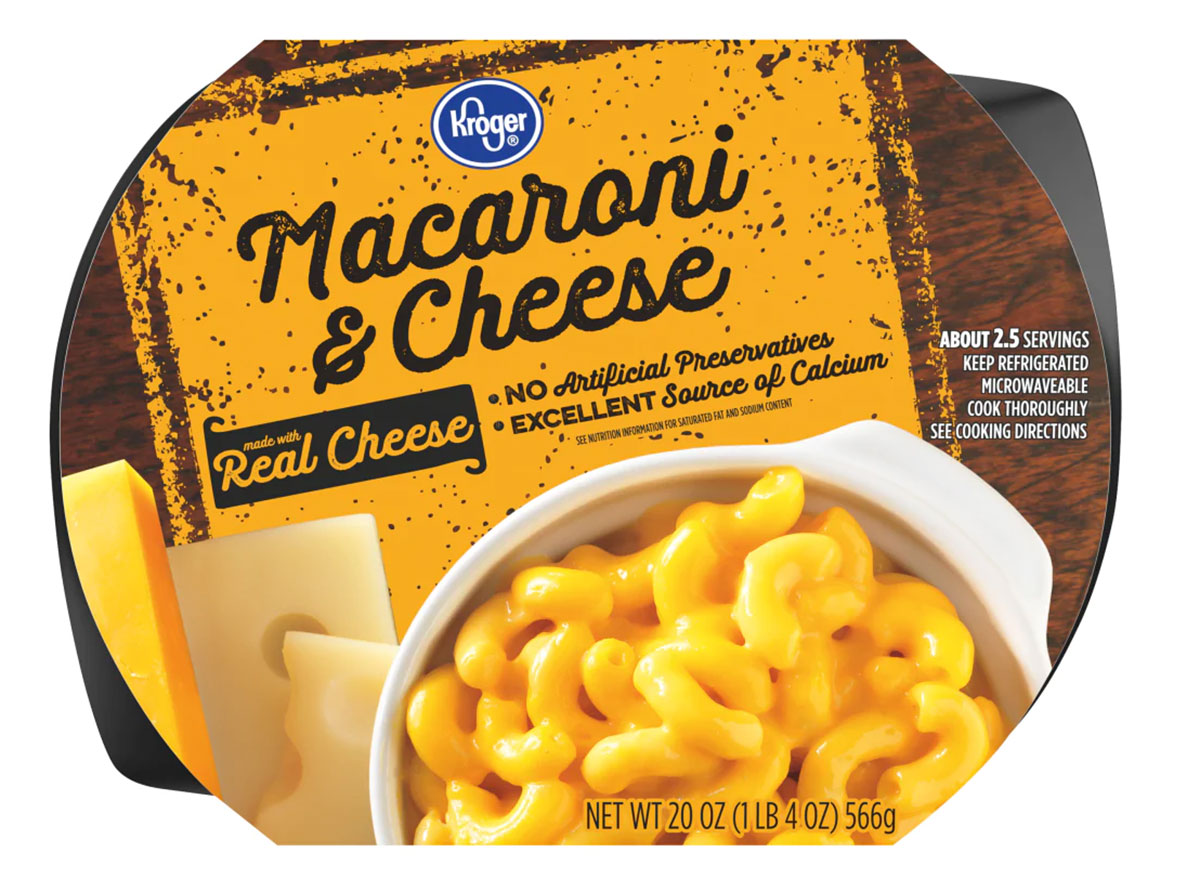 kroger refrigerated mac and cheese