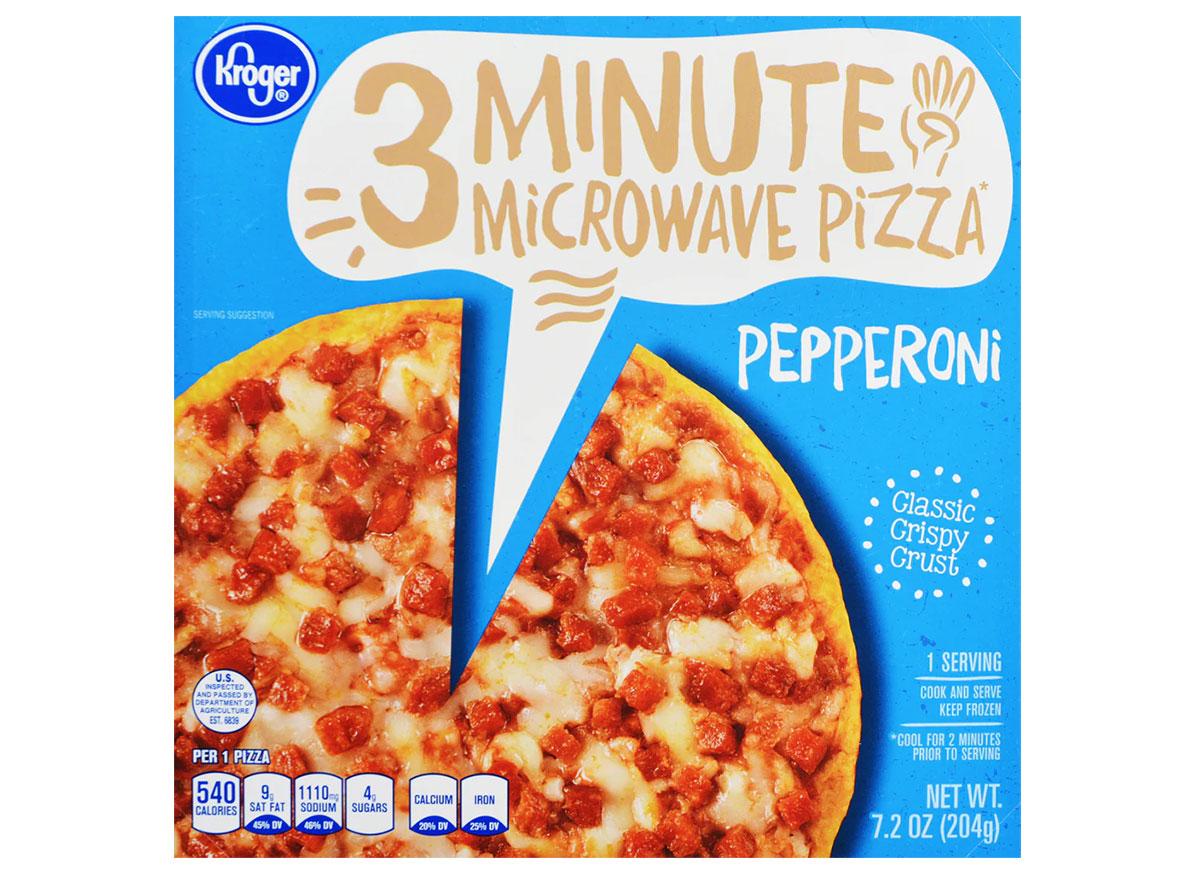 kroger microwave pepperoni pizza box