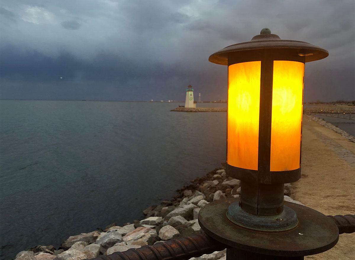 lantern at lake hefner oklahoma