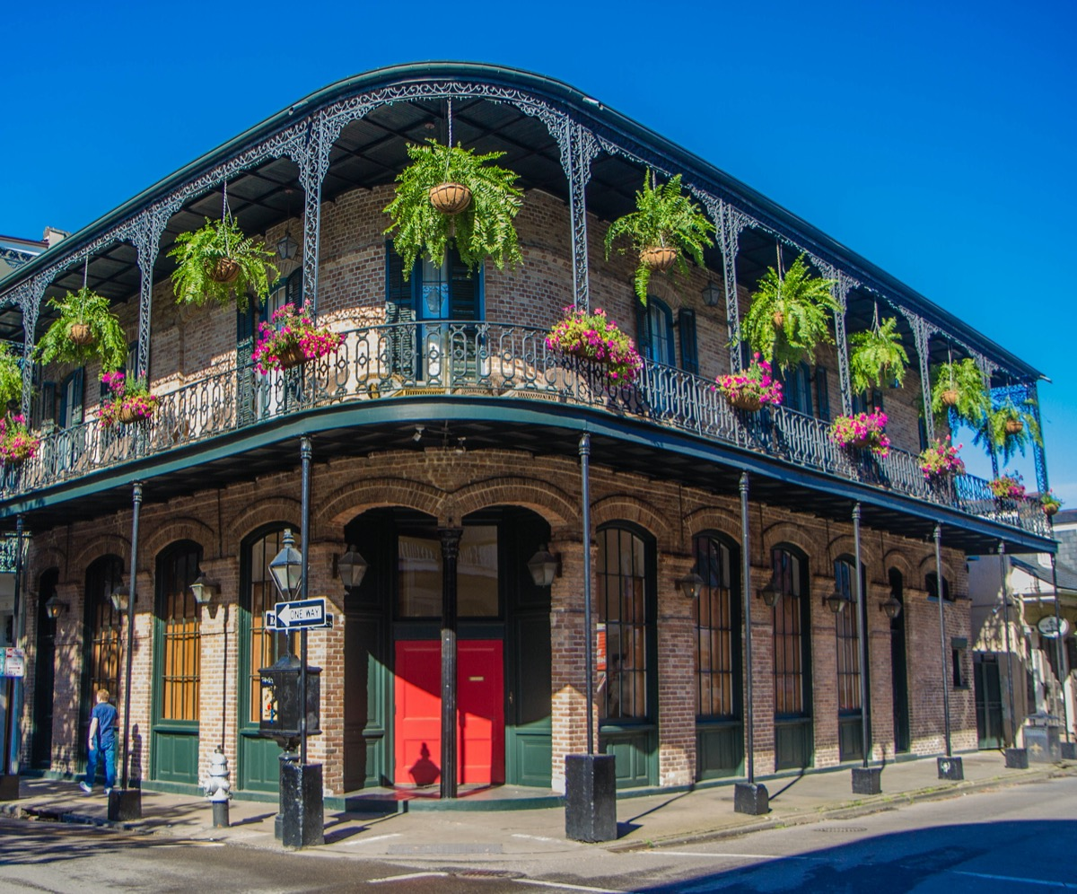 French Quarter architecture in New Orleans, Louisiana