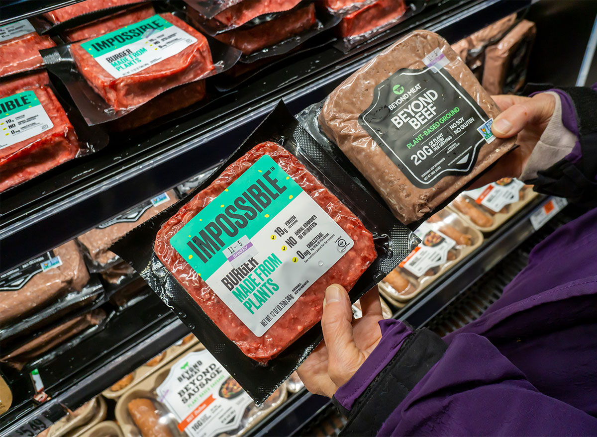 meat aisle impossible beyond burgers