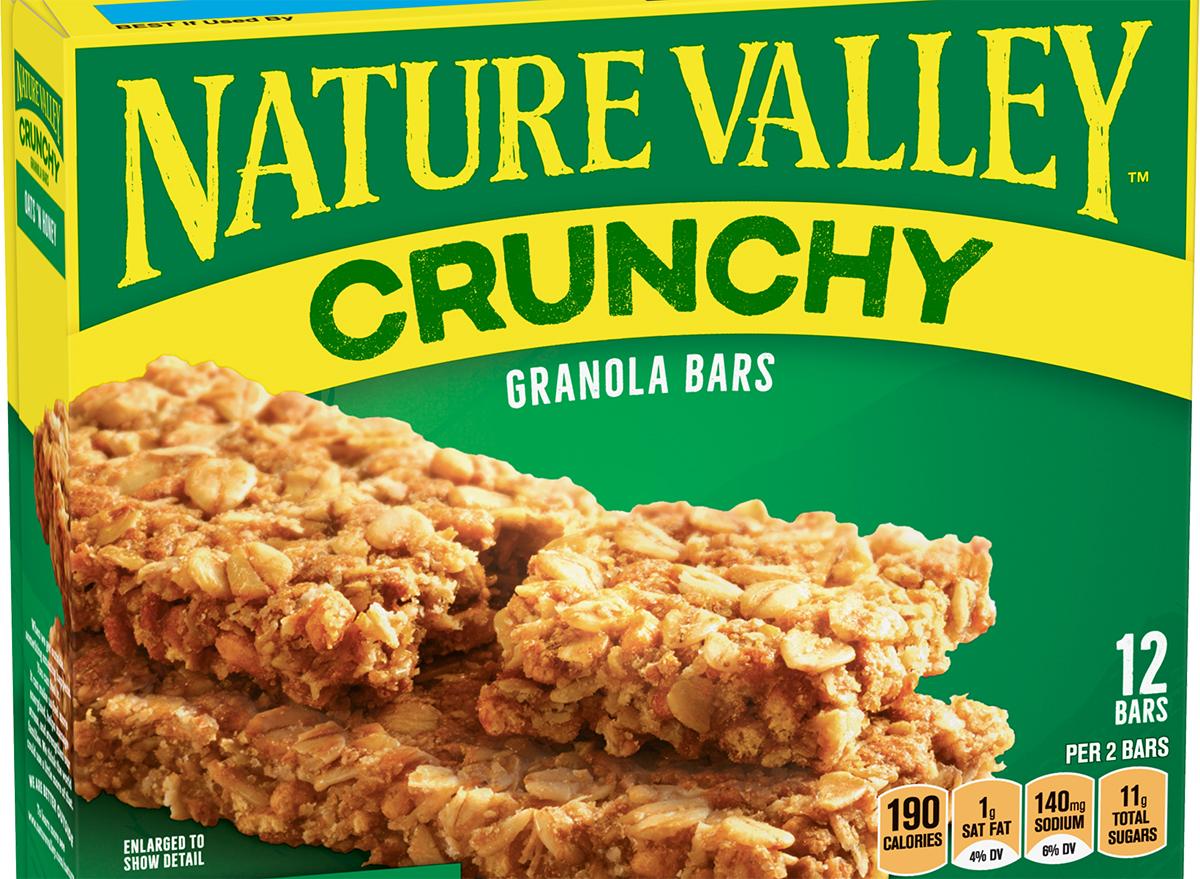 nature valley oats n honey granola bar