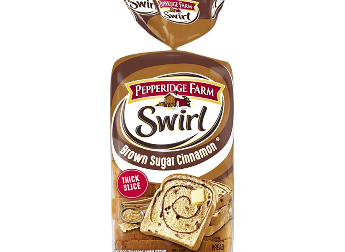 pepperidge farm brown sugar cinnamon swirl bread
