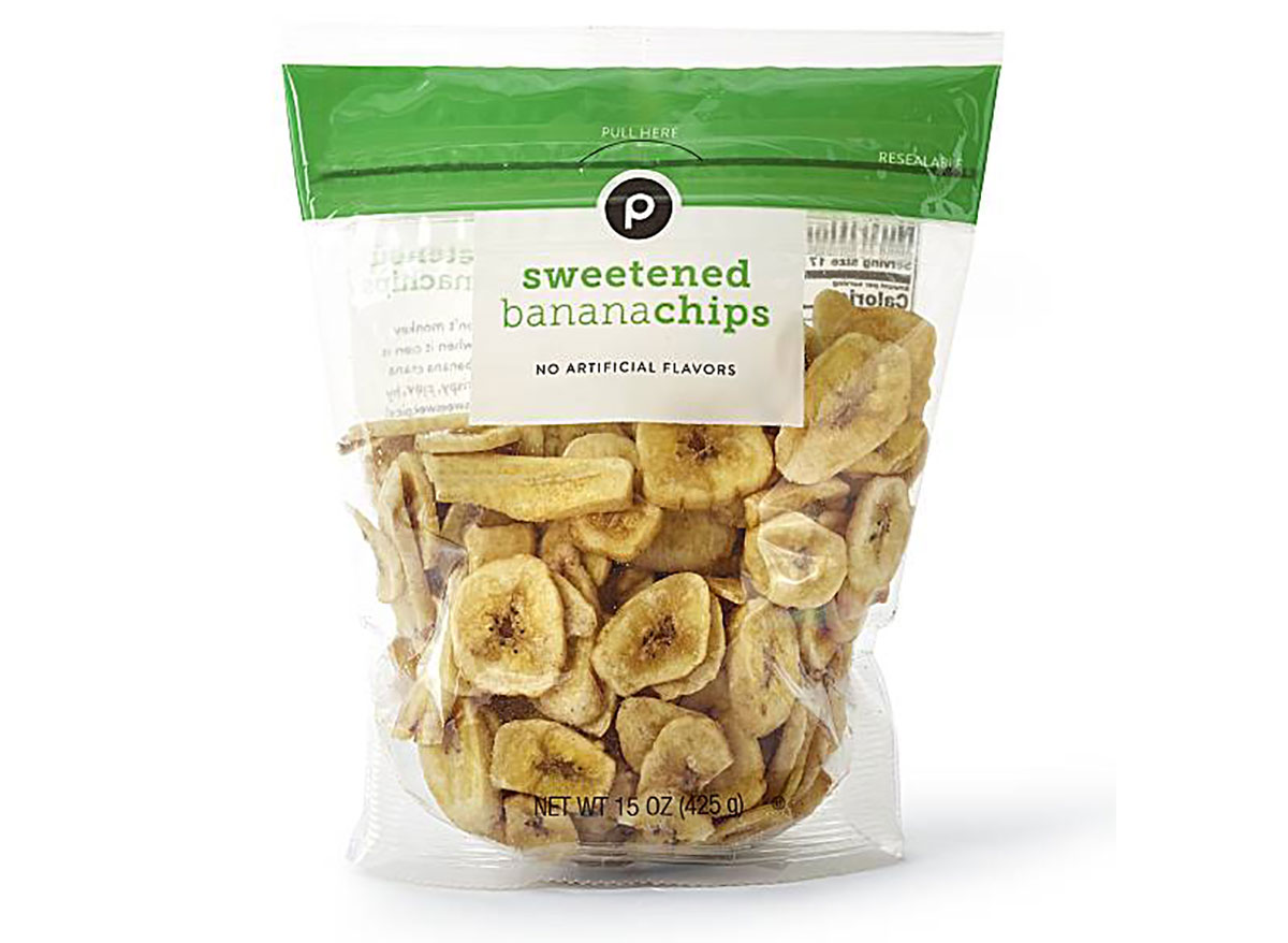 publix dried banana chips