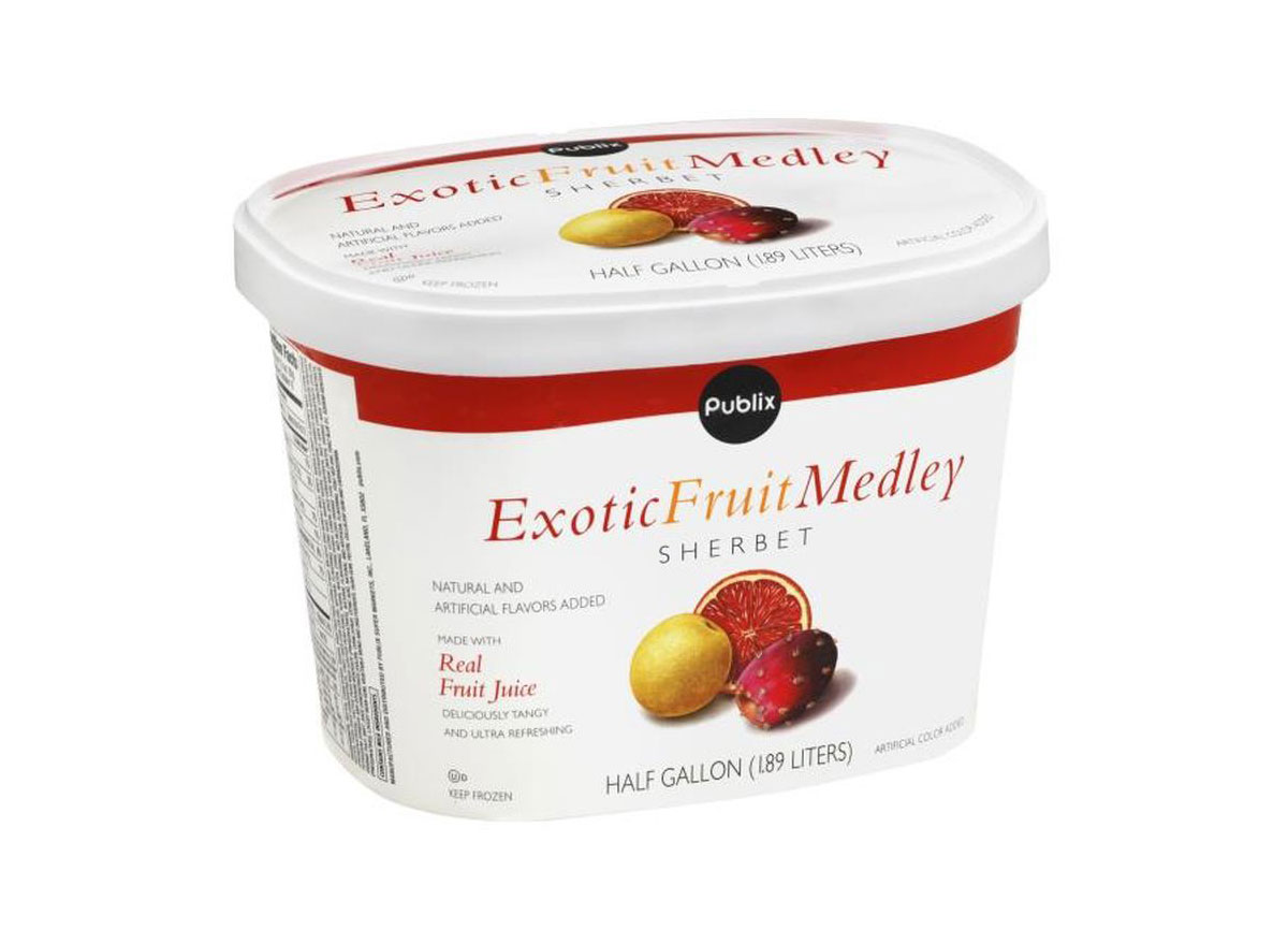 publix exotic fruit medley sherbet