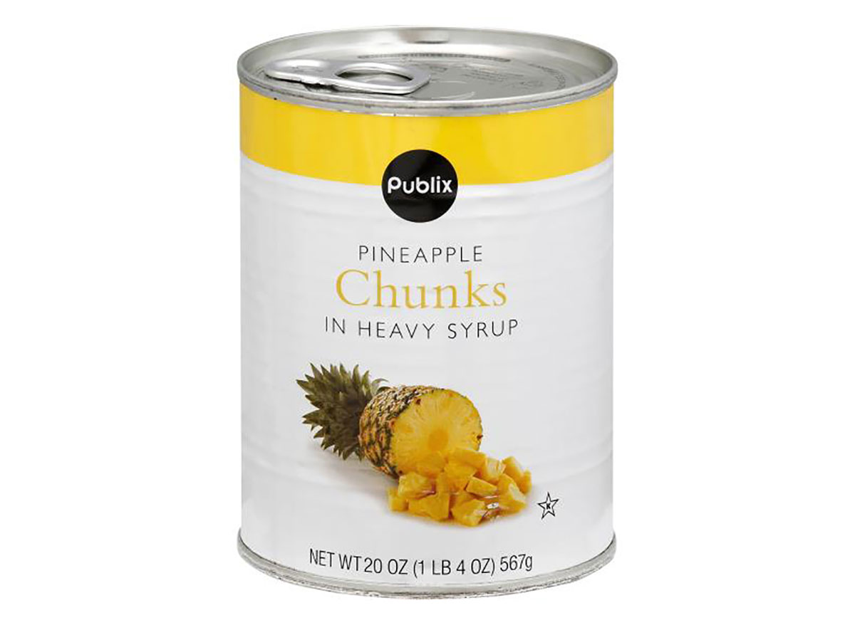 can of publix pineapple chunks