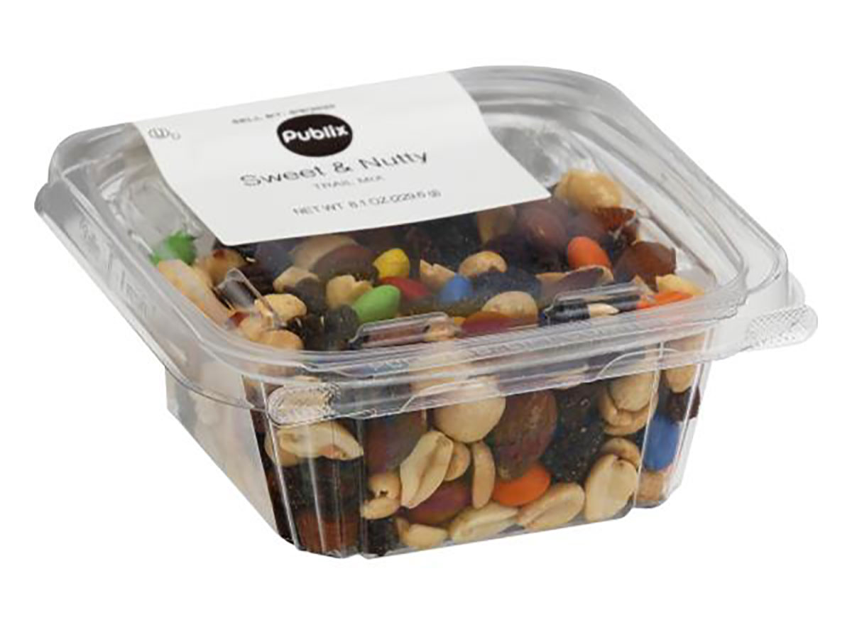 package of publix sweet and nutty trail mix