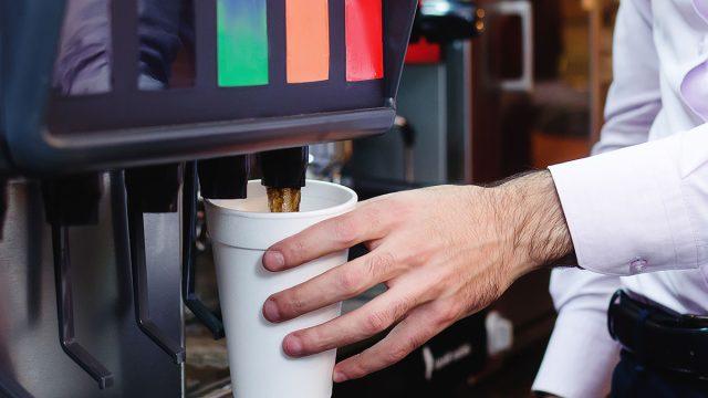 refilling drink
